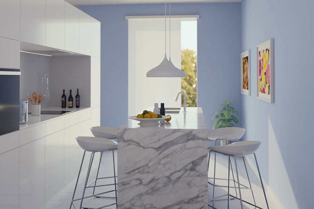 foto interno casa nuova a Mirandola - cucina